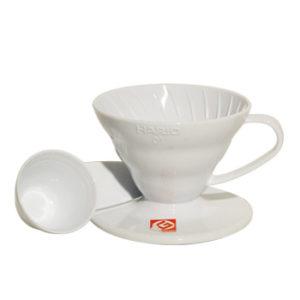 Suporte para Filtro de Café V60-01 Branco Hario