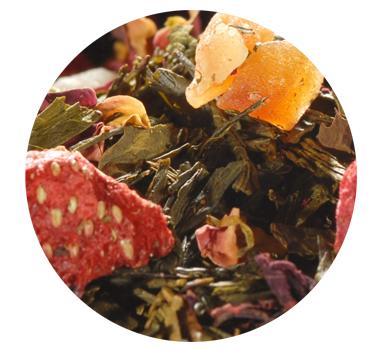 Chá Verde Sweet Fruits Taste of Tea