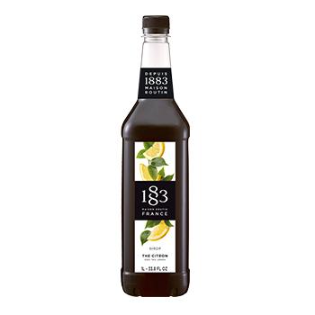 Xarope 1883 de chá preto com limao 1 litro para bebidas e coqueteis