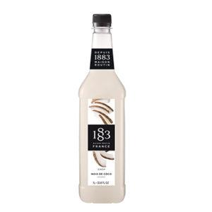 Xarope 1883 de coco 1 litro para bebidas e coquetéis