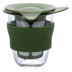 infusor de chá médio verde