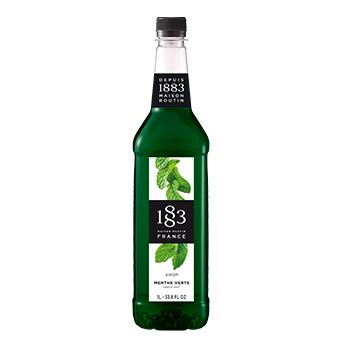 Xarope 1883 Menta Verde para bebidas e coquetéis