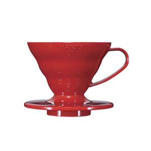 Suporte para Filtro de Café V60-01 Vermelho – Hario